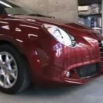Alfaromeo MiTo (ZAR 955) のボディコーティング.埼玉県のお客様|荒川区の和光自動車