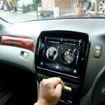 i pad をセルシオに取り付け ipad install to the car by PHKOSUGI