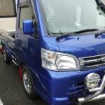 ハイゼットトラックでの 通勤風景 GT CAR プロデュース KTVマフラー