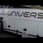 「東京モーターショー2013」ーHYUNDAIの大型バス、トラックの展示ブース
