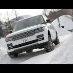レンジローバー&イヴォーク 本格SUVで雪上オフロードコースを激走