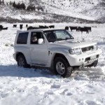 Pajero Evolution – Fun in the Snow… 【パジェロ】