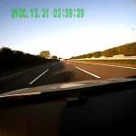 東北道スピード取締りポルシェ911が華麗な音で・・