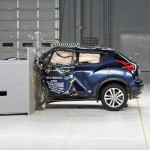 2014 Nissan Juke small overlap IIHS crash test 【日産】