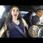 Four girls reactions to 900hp Nissan GTR 【日産】