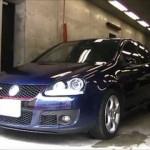 VW GOLF GTI (V,1K) の板金塗装修理. 相模原市からのご依頼.|荒川区の和光自動車