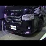 ハイエース 4型 モデリスタ トヨタ 動画 東京オートサロン2014