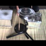 【ワラタ!】家庭用品の再利用の自作のドラムでX-JAPANの曲を叩いてる動画!