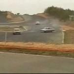 2009 エビスサーキット 春祭 西コース KE70 TE71 カローラ drift  4AG