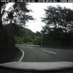 カローラGT(AE111) in 昇仙峡を流す