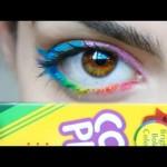 【超簡単!】色鉛筆でカラーアイライナーを自作する方法!