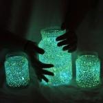 【キレイ!オシャレ!】優しく光る妖精の小瓶(Fairy Glow Jars)の作り方!インテリアにイイ!