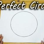 【なるほど!目から鱗!】道具を使わずに完璧な円を描くテクニック!