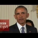 【さすがノーベル平和賞の小浜さん!】オバマ大統領が涙のスピーチ!