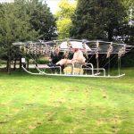 【ブーン♪】プロペラ54基のドローンで空を飛ぶ!