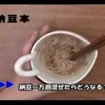 【実験!】納豆を一万回混ぜた結果・・・!?
