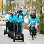 【乗りたい!】セグウェイ(電動立ち乗り二輪車)で街中をすぅ~いすい♪