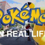 【かわいい!】実写版ポケモンGO(Pokemon GO)!ピカチュウの着ぐるみ!