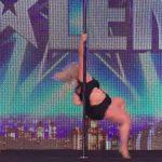 【再生数4600万回超!】体重100キロの女性が踊るポールダンス!