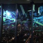【日本一高いビルで真田丸!】あべのハルカスの展望台で真田幸村のプロジェクションマッピング!
