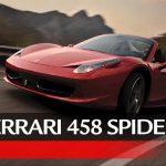「フェラーリ 458スパイダー 動画」ランキング