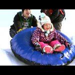 【さっぽろ雪まつり!】全長約100メートルのチューブスライダー!