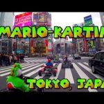 【東京でマリオカーティング!】外国人が日本の東京に集合してリアルマリオカートを楽しむ!