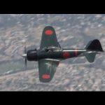 【アメリカ上空をゼロ戦が飛んだ!】カリフォルニア州サンバーナディーノ郡のチノ空港で零戦22型の飛行訓練に成功!