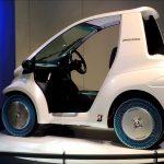 【エアフリーコンセプトの超小型EV(電気自動車)コムス!ブリジストン】絶対パンクしない空気入れ不要のタイヤを開発!