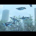 【空飛ぶペンギン!東京都豊島区池袋】サンシャイン水族館のケープペンギン水槽!