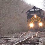 【ぐにゃぐにゃの線路を進む列車!】アメリカのインディアナ州ウッドバーンとオハイオ州リバティーセンターをつなぐ、ナポレオン・ディファイアンス・アンド・ウエスタン鉄道!