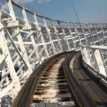 【ナガシマスパーランドの木製ジェットコースター!】リニューアル前のホワイトサイクロンを体験!